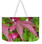 Japanese Maple Weekender Tote Bag