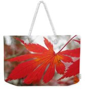 Japanese Maple Leaf 1 Weekender Tote Bag