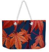 Japanese Maple Leaves In Autumn Weekender Tote Bag