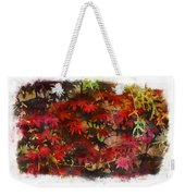Japanese Maple Under The Willow Weekender Tote Bag