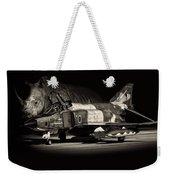 Japanese Rhino Weekender Tote Bag