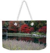 Japanese Serenity Weekender Tote Bag