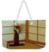 Japanese Tea House Weekender Tote Bag