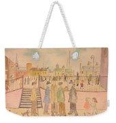 Japanese Whispers In Respect Of Lowry Weekender Tote Bag