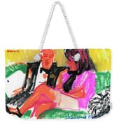 Jacque And Christine Weekender Tote Bag