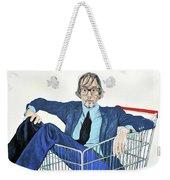 Jarvis Cocker 'off Yer Trolley' Weekender Tote Bag
