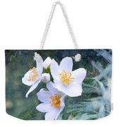 Jasmin Flower Weekender Tote Bag