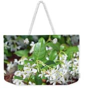 Jasmine In Bloom Weekender Tote Bag