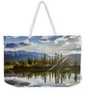Jasper Glory Rocky Mountain View Weekender Tote Bag