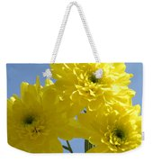Yellow Trio Weekender Tote Bag