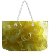 Yellow Waves Weekender Tote Bag