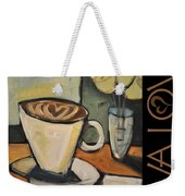 Java Love Poster Weekender Tote Bag