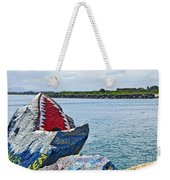 Jaws - Beach Graffiti Weekender Tote Bag