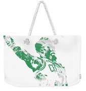 Jaylen Brown Boston Celtics Pixel Art 11 Weekender Tote Bag