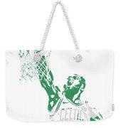 Jaylen Brown Boston Celtics Pixel Art 12 Weekender Tote Bag