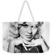 Jayne Mansfield  (1933-1967) Weekender Tote Bag