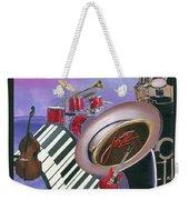 Jazz At Sunset Weekender Tote Bag