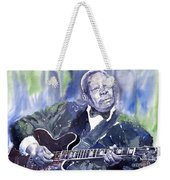 Jazz B B King 01 Weekender Tote Bag