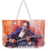 Jazz B B King 06 A Weekender Tote Bag