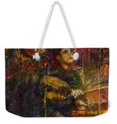 Jazz Bass Guitarist Weekender Tote Bag