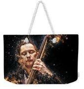 Jazz Bass Player Weekender Tote Bag