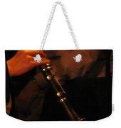 Jazz Clarinet Profile Weekender Tote Bag
