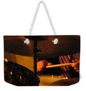 Jazz Drums Weekender Tote Bag