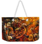 Jazz Gold Jazz Weekender Tote Bag