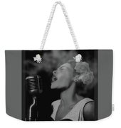Jazz Great Billie Holiday Weekender Tote Bag