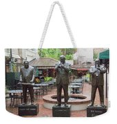 Jazz Greats Al Hirt Fats Domino Pete Fountain Stature New Orleans  Weekender Tote Bag
