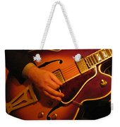 Jazz Guitar  Weekender Tote Bag