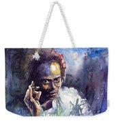 Jazz Miles Davis 11 Weekender Tote Bag