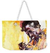 Jazz Miles Davis 6 Weekender Tote Bag