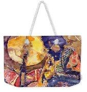Jazz Miles Davis Electric 2 Weekender Tote Bag