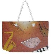 Jazz Music Weekender Tote Bag