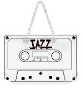 Jazz Music Tape Cassette Weekender Tote Bag