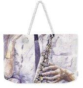 Jazz Muza Saxophon Weekender Tote Bag