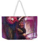 Jazz Purple Duet Weekender Tote Bag