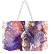 Jazz Ray Charles Weekender Tote Bag
