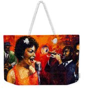 Jazz Song Weekender Tote Bag