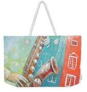 Jazz. Summer. Gdansk Weekender Tote Bag