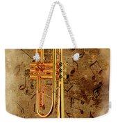 Jazz Trumpet Weekender Tote Bag