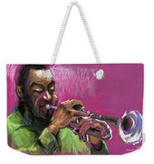 Jazz Trumpeter Weekender Tote Bag