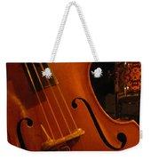 Jazz Upright Bass Weekender Tote Bag