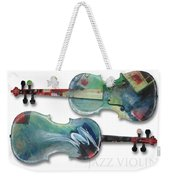 Jazz Violin - Poster Weekender Tote Bag