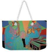 Jazzamatazz Band Weekender Tote Bag