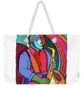 Jazzin #3 Weekender Tote Bag