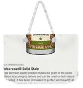 Jc Licht Arborcoat Solid Stain Weekender Tote Bag