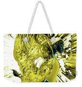 Jd And Leo- Inverted Gold Weekender Tote Bag