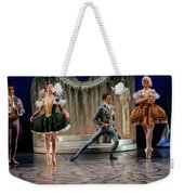 Jealous Stepsister Ballerinas En Pointe With Guests At The Ball  Weekender Tote Bag